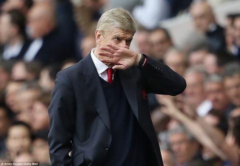 HLV Wenger Arsenal khong duoc phep thua MU hinh anh