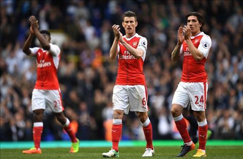 Arsenal that bai 0-2 tren san Tottenham