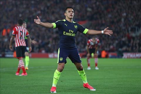 Sanchez ghi ban truoc Southampton