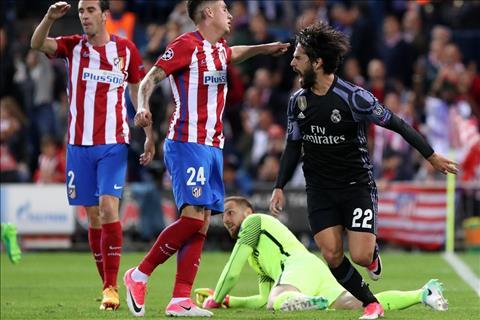 Du am Atletico 2-1 Real Them mot lan goi ten anh, Isco hinh anh