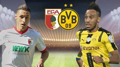 Nhan dinh Augsburg vs Dortmund 20h30 ngay 135 (Bundesliga 201617) hinh anh