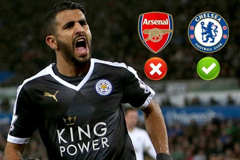 Tien ve Riyad Mahrez chuan bi gia nhap Chelsea?