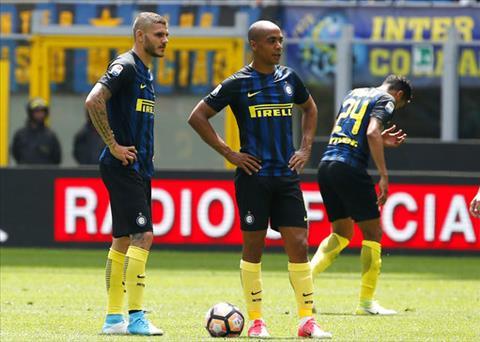 Sau vong 36 Serie A 201617 Tha di an trua con hon xem Inter hinh anh