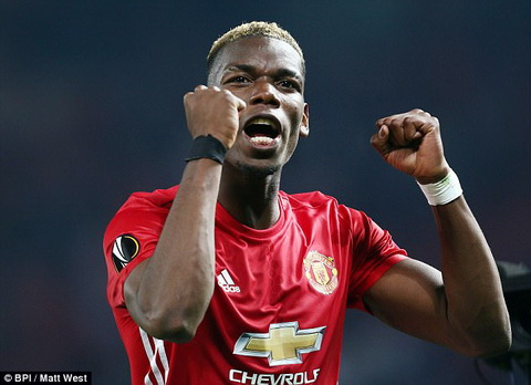 Tien ve Paul Pogba trai long ve Champions League hinh anh 2