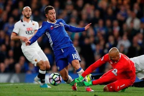 Ramsey Arsenal can canh giac voi tien ve Eden Hazard hinh anh 2