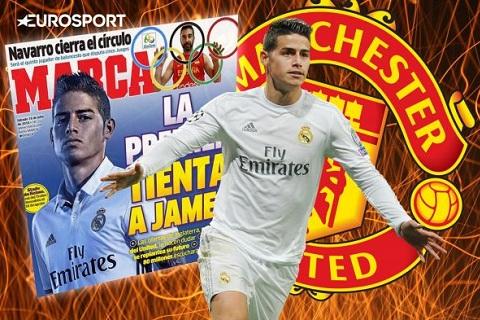 Thong tin James Rodriguez sang M.U xuat phat tu Marca
