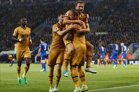 Thong ke Leicester 1-6 Tottenham Tuyet voi Harry Kane! hinh anh