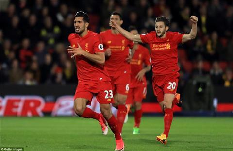 Nhung thong ke an tuong sau tran dau Watford 0-1 Liverpool hinh anh