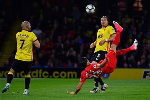Nhung thong ke an tuong sau tran dau Watford 0-1 Liverpool hinh anh 2