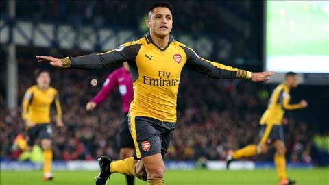 Tieu bieu la tran luot di, Sanchez ghi ban nhung Arsenal van thua nguoc Everton