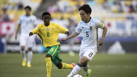 U20 Nam Phi 1-2 U20 Nhat Ban Khoi dau chat vat hinh anh