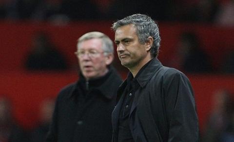 Sir Alex Ferguson va Jose Mourinho