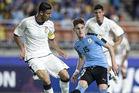 U20 Italia 0-1 U20 Uruguay Azzurri tre thua tam phuc khau phuc hinh anh