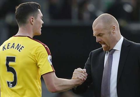 HLV Burnley Michael Keane se tro lai MU neu hinh anh 2