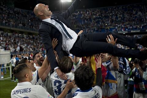 Real vo dich La Liga Vi Zidane khong phai ke an may… hinh anh 2