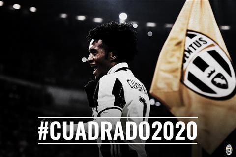 CLB Juventus CHINH THUC mua dut tien ve Cuadrado hinh anh
