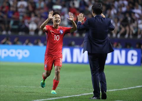 Tong hop U20 Han Quoc 2-1 U20 Argentina (Bang A U20 World Cup 2017) hinh anh