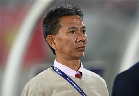 HLV Hoang Anh Tuan cho rang thanh tich cua U20 Viet Nam la ket qua xung dang sau 2 nam chuan bi cong phu. Anh: Zing.vn