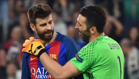 Pique ung ho Juventus len ngoi vo dich Champions League hinh anh