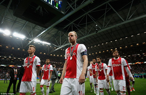 Ajax Amsterdam guc nga truoc MU Lai mot the he nua ra di hinh anh