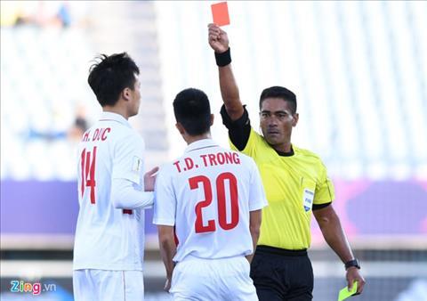 Trong tai dang cap bat chinh tran U20 Viet Nam vs U20 Honduras hinh anh 2