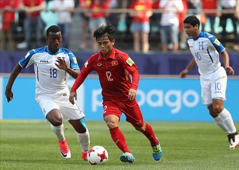 Tong hop U20 Viet Nam 0-2 U20 Honduras (Bang E U20 World Cup 2017) hinh anh