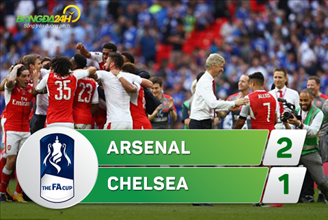 Tong hop Arsenal 2-1 Chelsea (Chung ket FA Cup 201617) hinh anh