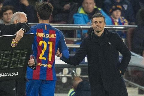 Andre Gomes la chu ky dang that vong cua Barca