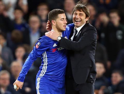 Lampard cho rang Hazard tung la van de lon voi Conte