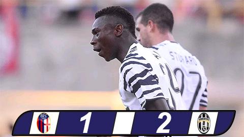 Bologna 1-2 Juventus Chay da hoan hao cho CK Champions League hinh anh