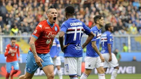 Nhan dinh Sampdoria vs Napoli 23h00 ngay 285 (Serie A 201617) hinh anh