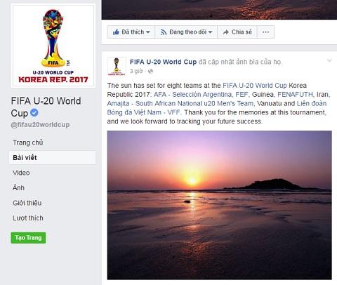 FIFA gui loi chuc tot dep den nhung DT bi loai
