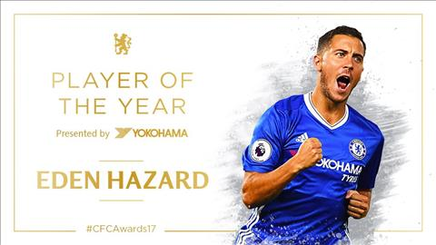 Tien ve Eden Hazard duoc NHM Chelsea vinh danh hinh anh