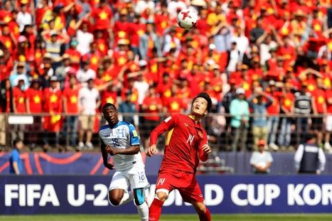 Du khong the di tiep, U20 Viet Nam van gay an tuong tai VCK the gioi
