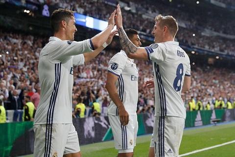 Tiền vệ Toni Kroos tiếc nuối về sự ra đi của Ronaldo hình ảnh