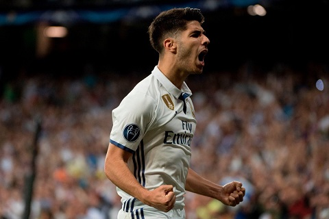 Marco Asensio duoc menh danh la hoang tu moi cua thanh Madrid