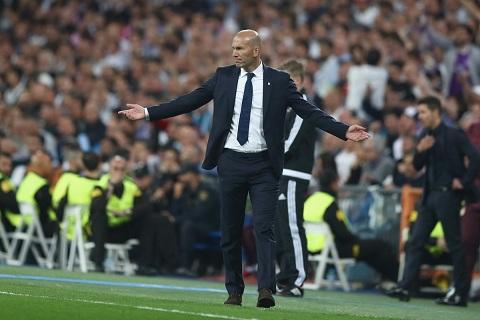 HLV Zidane thua nhan may man o tran thang Atletico hinh anh
