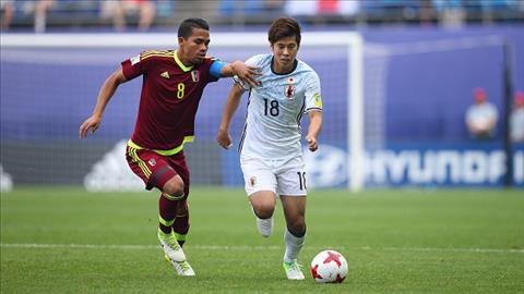 Tong hop U20 Venezuela 1-0 U20 Nhat Ban (U20 World Cup 2017) hinh anh