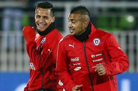 Dong doi Chile thuc giuc Sanchez gia nhap Bayern hinh anh
