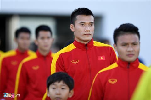 Thu mon Bui Tien Dung cung tien ve Quang Hai la 2 trong so 7 cau thu U20 Viet Nam len DTQG. Anh: Zing.vn