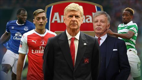Wenger anh huong the nao den chuyen nhuong Arsenal hinh anh