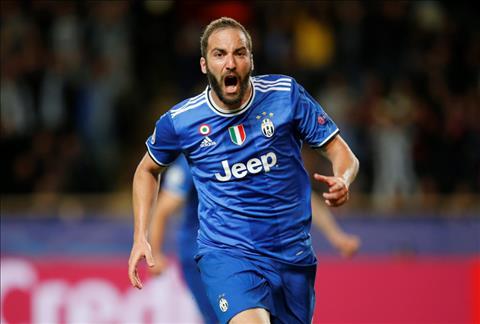 Monaco 0-2 Juventus Higuain toa sang, Lao ba coi nhu da vao chung ket cup C1 hinh anh