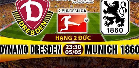 Nhan dinh Dynamo Dresden vs 1860 Munich 23h30 ngay 55 (Hang 2 Duc 201617) hinh anh