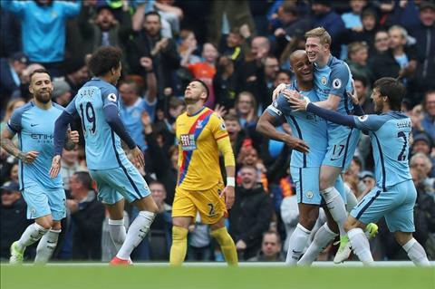 Man City danh bai Palace 5-0