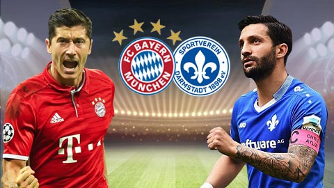 Nhan dinh Bayern Munich vs Darmstadt 20h30 ngay 65 (Bundesliga 201617) hinh anh
