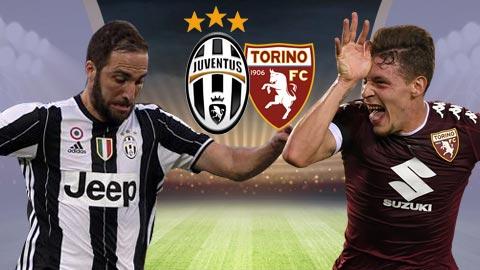 Nhan dinh Juventus vs Torino 01h45 ngay 75 (Serie A 201617) hinh anh
