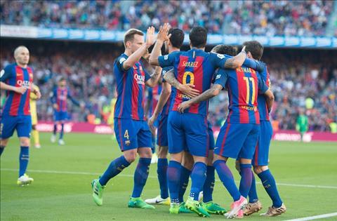 Nhung con so an tuong sau tran dau Barca 4-1 Villarreal hinh anh