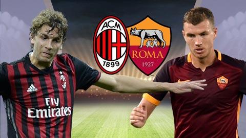 Nhan dinh AC Milan vs Roma 01h45 ngay 85 (Serie A 201617) hinh anh