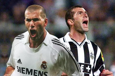 Zidane tai Real va Juventus