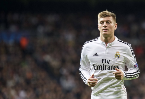 CLB Real Madrid đưa ra giá bán tiền vệ Toni Kroos  hình ảnh